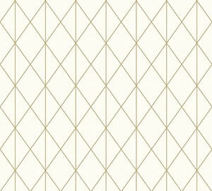 A.S. Creation Vliestapete Designdschungel by Laura N.- gold metallic-creme - 10 Meter