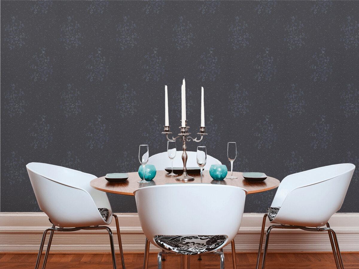 Bild 3 von A.S. Creation Vliestapete Designdschungel by Laura N.- schwarz metallic-grau - 10 Meter