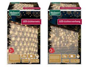 MELINERA® LED-Lichternetz / -vorhang