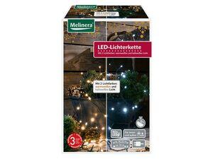 MELINERA® Lichterkette 80 LED mit wechselbarer Lichtfarbe und 8 Lichtfunktionen