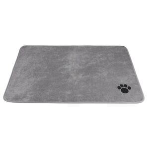 Schaumstoff-Hundematte 98x70cm Grau