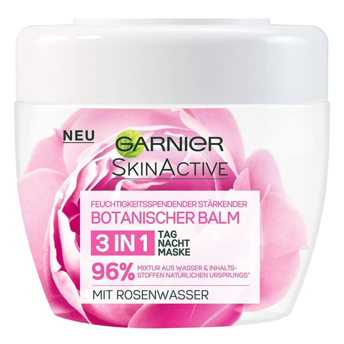 Bild 1 von Garnier SkinActive Botanischer Balm 3in1 mit Rosenwasser 150ml