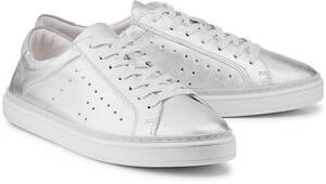 Trend-Sneaker von COX in silber für Damen. Gr. 36,37,40,41