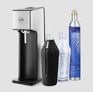 Sodapop Trinkwassersprudler Sharon ,  inkl. CO2-Zylinder, 2 Glasflaschen, 2 Bottle Shirt´s