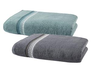 tukan 1 Frottier Duschtuch oder 2 Frottier Handtücher