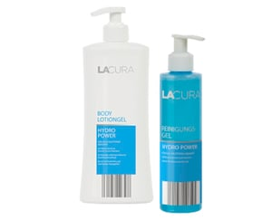 "LACURA Reinigungs- oder Bodylotiongel ""HYDRO POWER"""