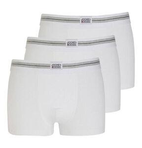 Jockey Herren Boxer, 3er-Pack, weiß, XXL, XXL