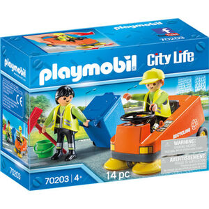 PLAYMOBIL® City Life Kehrmaschine 70203
