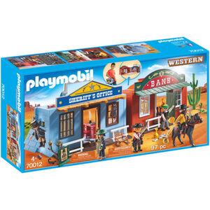 PLAYMOBIL® Western Mitnehm-Westerncity 70012