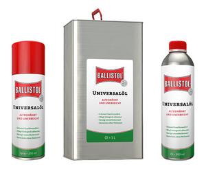Universal Pflegeöle - verschiedene Größen Ballistol