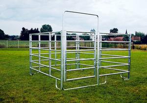 Pony Panel Boxen Sets - 3 Zaunelemente +1 Zaunelement mit Tor in verschiedenenBreiten Patura