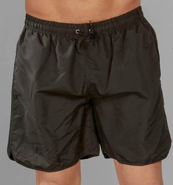 Schwimm Shorts, Farbe schwarz