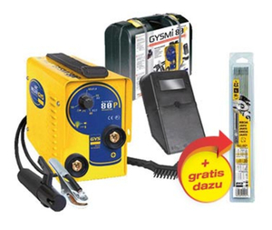 Elektroden - Schweißinverter GYSMI 80P inklusive 50 rutile Elektroden GYS