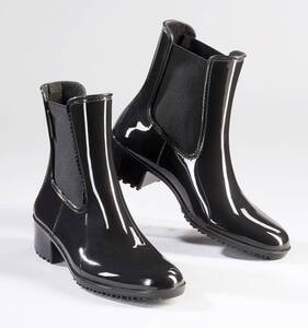 Regenstiefeletten, Farbe schwarz