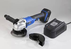 Akku Winkelschleifer 18 Volt Li-Ion Komplett - Set AWS18 inkl. Akku und Ladegerät Westfalia