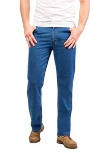 Sommerjeans im 5 Pocket Style, bluestone Wisent