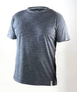 Rundhals T-Shirt, Farbe blau Coastguard