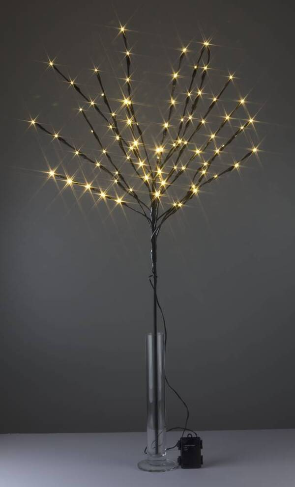 Beleuchteter Baum 110 cm mit 80 LED