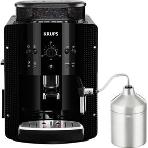 Krups Kaffeevollautomat EA810XS, inkl. Auto-Cappuccino-Set, schwarz