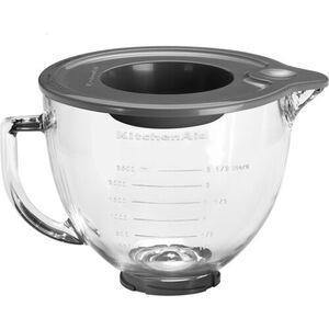 KitchenAid Glasschüssel 4,8-Liter mit Deckel 5K5GB, Zubehör