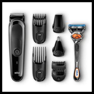 Braun Haartrimmerset MGK3060, schwarz
