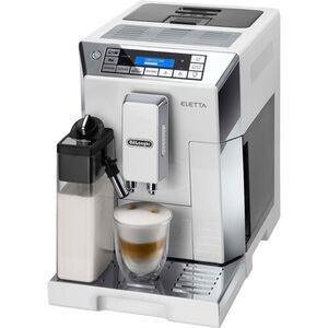 DeLonghi Kaffee-Vollautomat Eletta Cappuccino ECAM45.766 W, weiß, weiß/silber