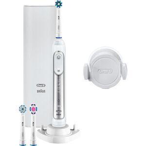 Oral-B Elektrische Zahnbürste Genius 8100S, silber