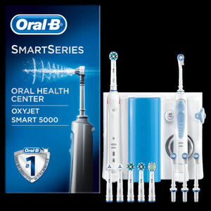 Oral-B Mundpflege Center Smart 5000 + OxyJet Munddusche