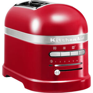KitchenAid Toaster Artisan 5KMT2204, empire-rot, rot