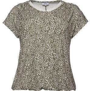Myline Damen T-Shirt, khaki, 52, 52