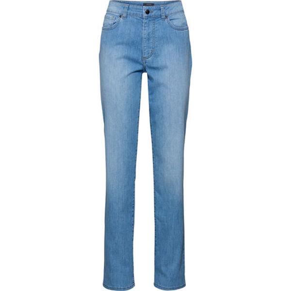 Adagio Damen Jeans, bleached, 46/L32, hellblau, 46/L32