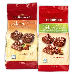 Pischinger Mandel-/ Haselnussecken