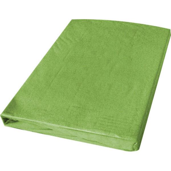 florex® Gold Bi-Elastic-Spannbetttuch, 100x200 cm, grün, cm