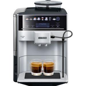 Siemens Kaffeevollautomat EQ.6 s300 TE653501DE, silber, silber/schwarz