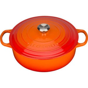 Le Creuset Gourmet-Bräter Signature, Ø 30 cm, ofenrot, rot