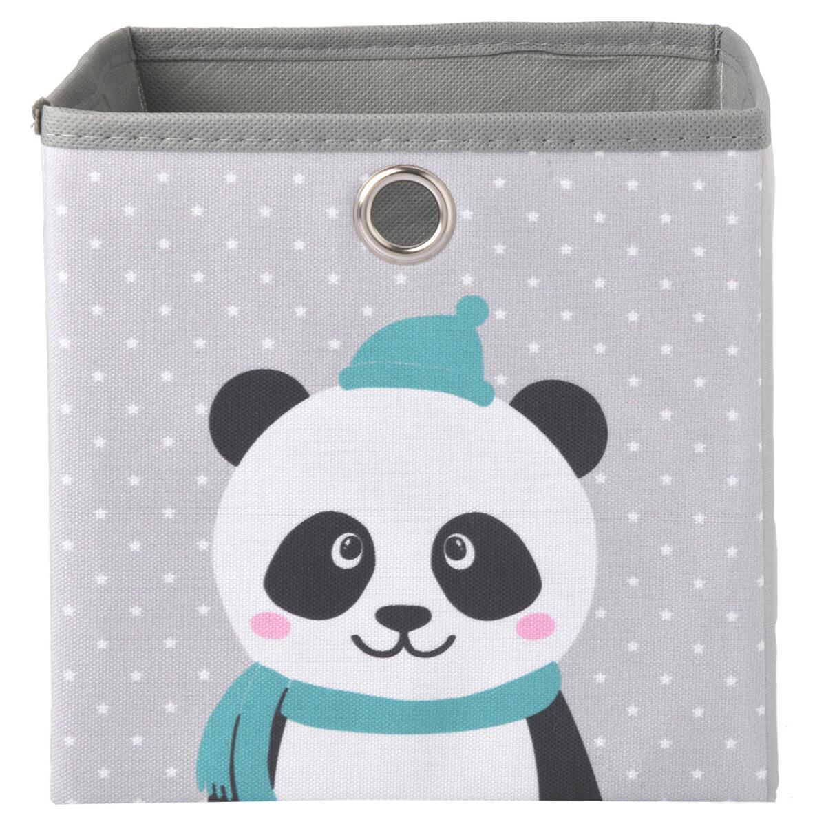 Bild 2 von Aufbewahrungskorb mit Panda-Motiv