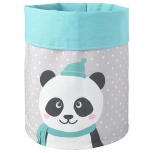 Aufbewahrungskorb mit Panda-Motiv