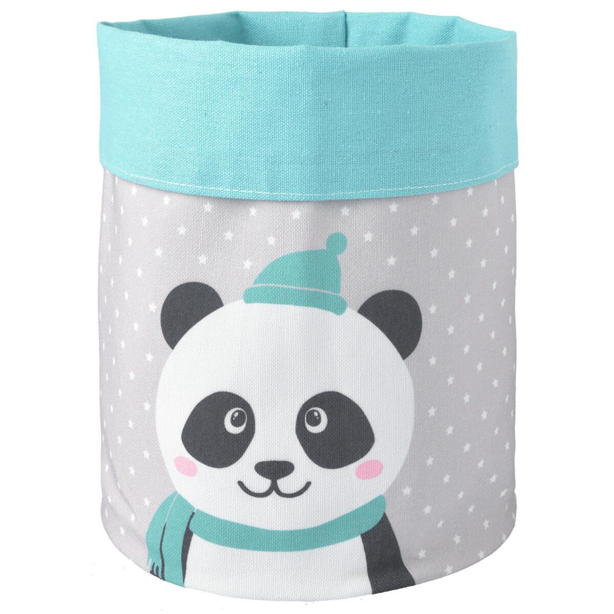 Bild 1 von Aufbewahrungskorb mit Panda-Motiv