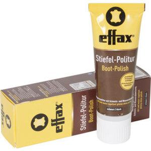 effax Stiefel-Politur        Schwarz, 75 ml