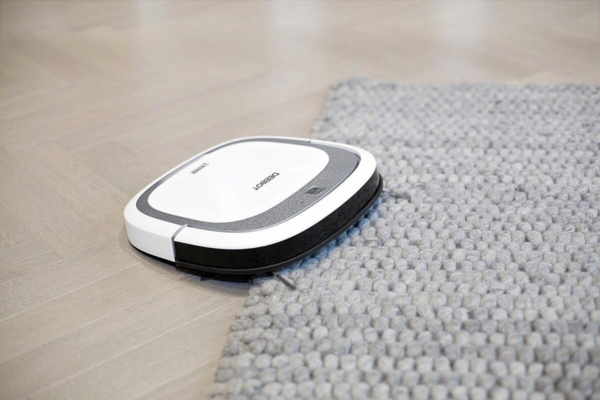 Bild 5 von Ecovacs Saugroboter Deebot SLIM 2 | B-Ware - der Artikel wurde vom Hersteller geprüft und ist technisch einwandfrei - kann Gebrauchsspuren aufweisen