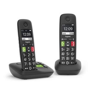 Gigaset schnurlos Telefon E290 Duo ,  mit Anrufbeantworter, 2 Mobilteile