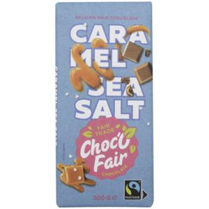 Choc-O-Fair Schokolade Milchschokolade, Karamell & Meersalz