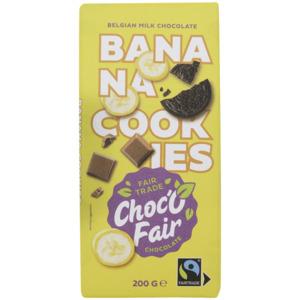 Choc-O-Fair Schokolade Milchschokolade, Banane & Kuchen