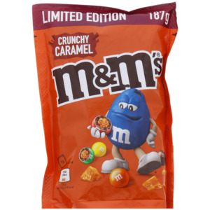 M&M's Crispy Caramel
