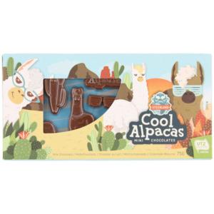 Unicorn oder Alpaca-Schokolade