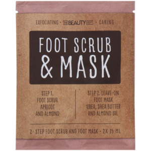 The Beauty Dept. Fußmaske und Scrub