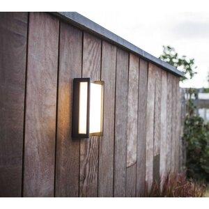 Eco-Light LED-Außenwandleuchte   Quobo-WIZ