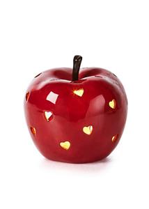 LED-Windlicht Apfel