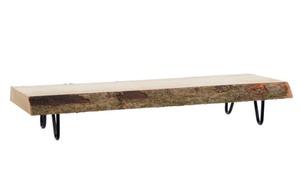Kaemingk - Dekotablett Paulowina in braun, 50 cm