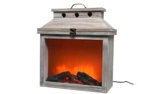 Kaemingk - LED-Holzkamin Flame in taupe